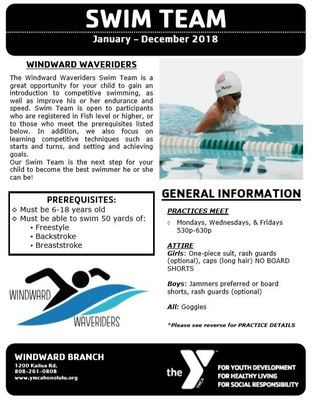 Swim-team-flyer