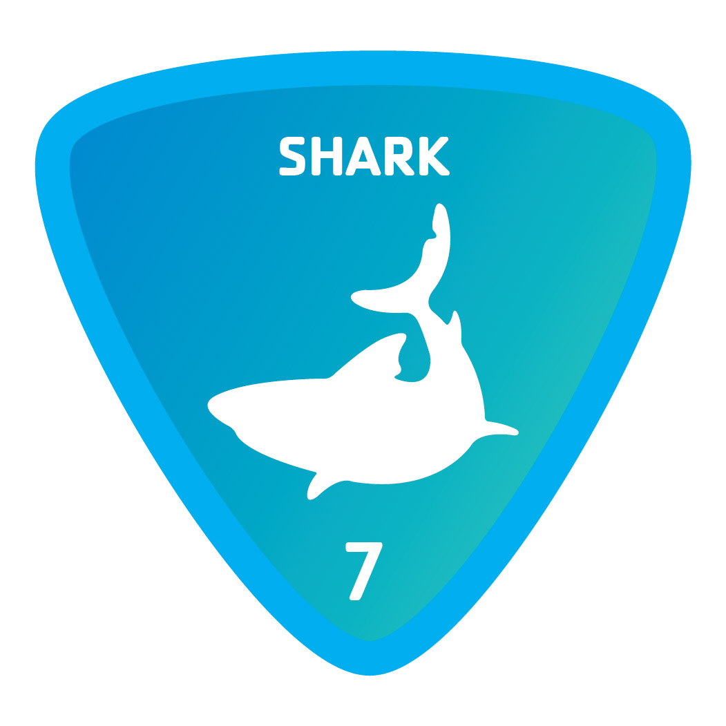 Aquatics-badge-7-shark