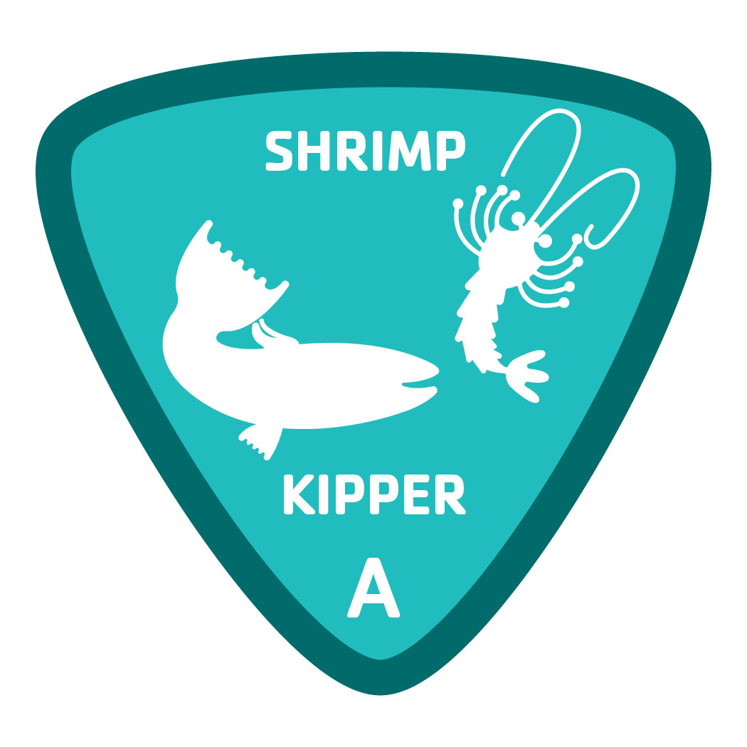 Aquatics-badge-a-shrimp-kipper